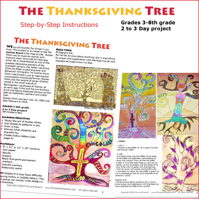 Thanksgiving Art Project 3rd Grade