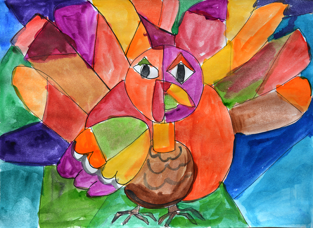 Picasso's Thanksgiving Turkey