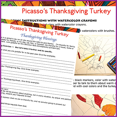 Picasso's Thanksgiving Turkey
