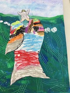 Painting of Jonah Christian Art Lesson